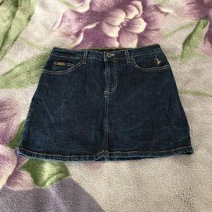 Denim skirt for juniors